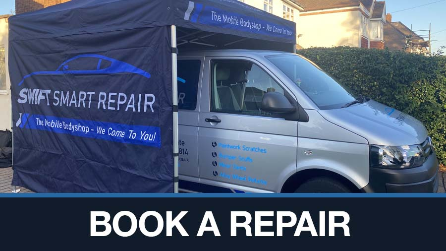mobile car paint repair appointment