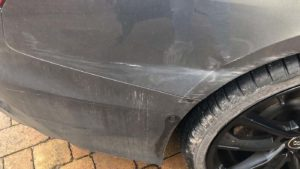 mobile car scratch repair Walsall, West Midlands and Staffordshire