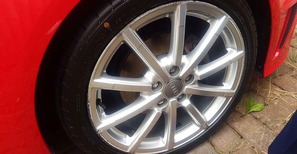 alloy wheel repair walsall audi before