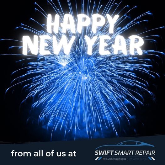 Happy New Year from all of us at Swift Smart Repair...