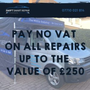 SNEAK PEAK  The first of our January offers!  Pay no VAT on all repairs up to t...